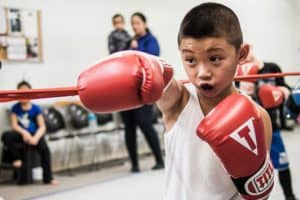 Boxing in school curriculum