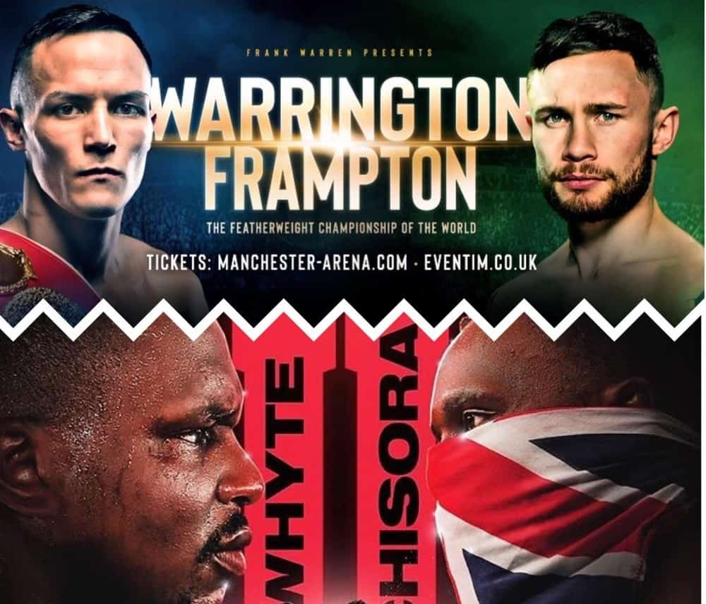 Warrington vs Frampton or Whyte vs Chisora