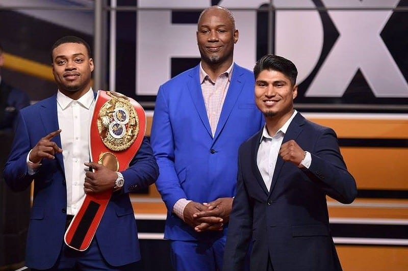 Spence Jr & Garcia size difference