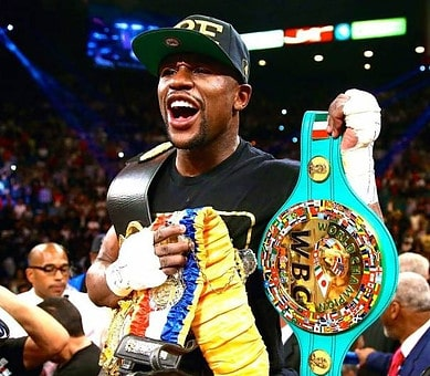 Floyd Mayweather fighter of the decade