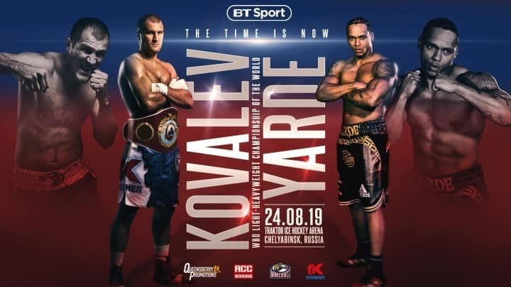 Kovalev vs Yarde
