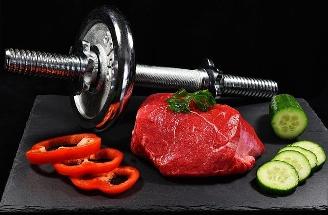 muscle building food