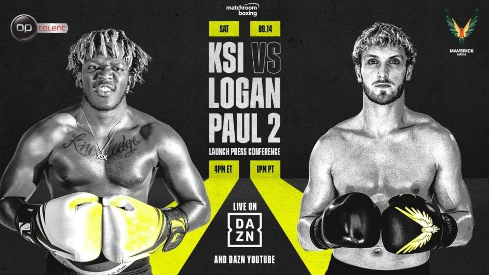 Fight Preview: KSI vs Logan 2 + undercard - where to watch