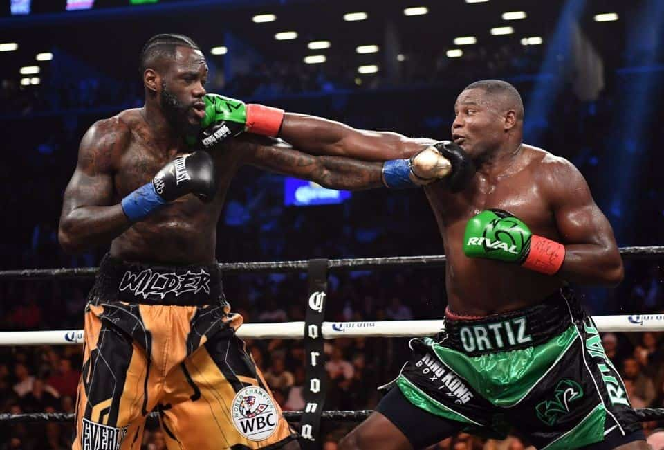Wilder vs Ortiz 1