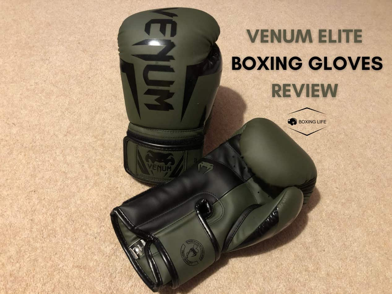 Venum Elite boxing Gloves review | boxing life