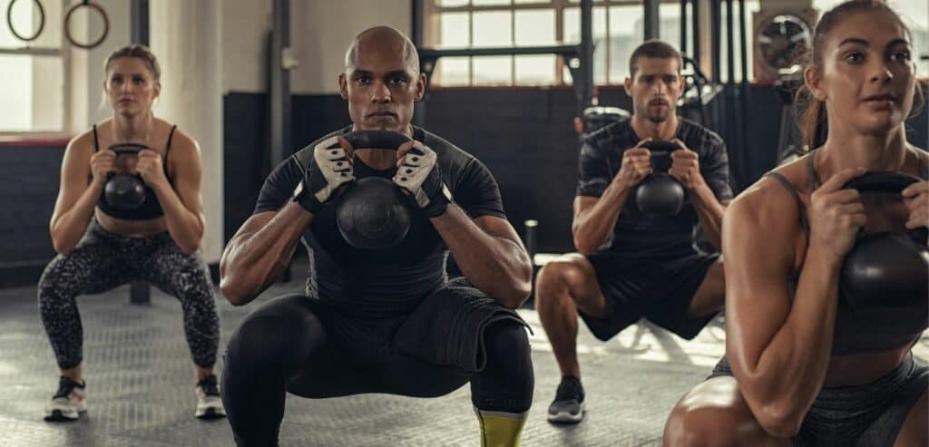 Kettlebell and boxing