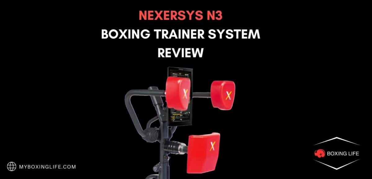 NEXERSYS N3 BOXING TRAINER SYSTEM REVIEW