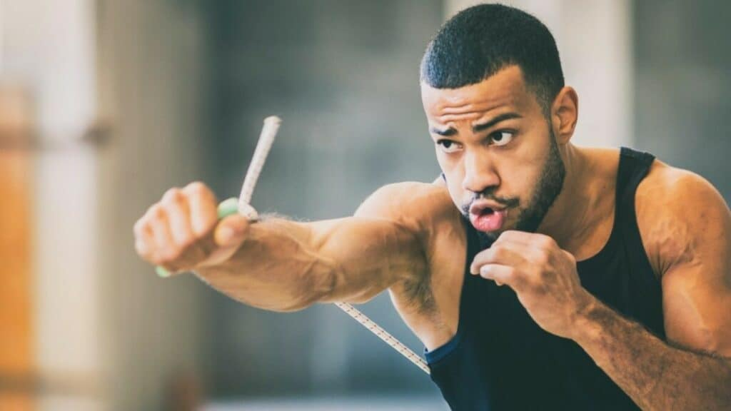 Shadow Boxing resistance bands benefits